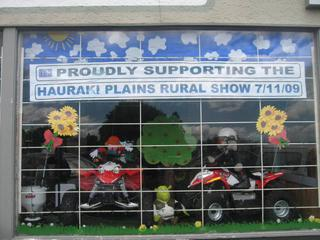 Winning window display 2009